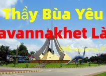 Thầy làm bùa yêu ở Savannakhet Lào